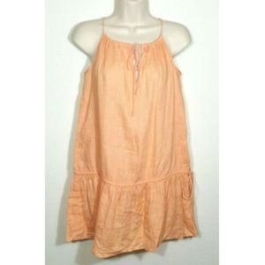 J. CREW Swimsuit Coverup Linen Getaway Dress 2168